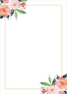 Baby Shower Invitation Background Fresh Standing Ovation Foil Wedding Invitations In 2019 Wedding Invitation Background, Foil Wedding Invitations, Wedding Background, Floral Invitation, Pink Floral Background, Blank Background, Background Clipart, Background Vintage, Shower Invitation