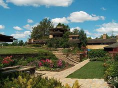 Frank Lloyd Wright's Home at Taliesin East, Spring Green, WI