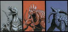 The evolution of Anguirus - Godzilla 2014 Gallery