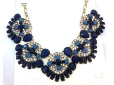 Handmade Statement Necklace Bib Necklace Retro Necklace by eBijoux, $16.99