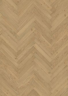 This natural oak herringbone design by Kährs embodies an on-trend Scandinavian style.