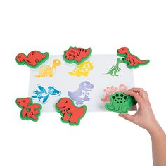 Dinosaur Stamps - OrientalTrading.com