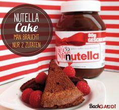 2 Zutaten Nutella Cake – BackGAUDI