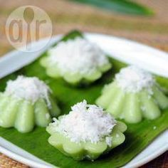 Recipe photo: Kuih Kosui Pandan