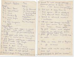 Danish Pastry (50 year old handwritten recipe)