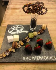 A #movie-inspired chocolate amenity welcomed guests to #RCTIFF at The Ritz-Carlton, #Toronto.