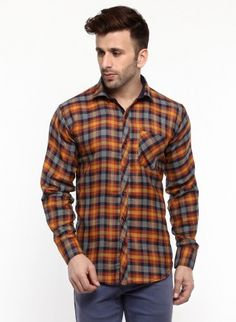 Buy Checked Brush Twill Casual Shirt Online at Low prices in India on Winsant  #shirts #casualshirt #mensfashion #fashionblogger #fashion #style #winsant #pinterestmarketing #pinterest Formal Shirts For Men, Online Shopping Websites, Lingerie Set, Workout Shirts, Tee Shirts, Men Casual, Menswear, Mens Fashion, T Shirts