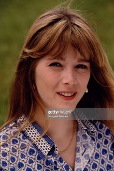 Photo d'actualité : French actress and singer Helene Rolles at home...