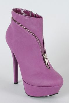 Dainty-8 Zipper Round Toe Bootie, cool