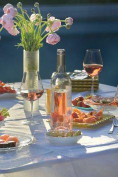 Art de vivre à la mode de Bordeaux #vin #rosé