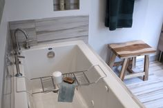 Style Box, Bath Caddy, Bathtub, Bathroom, House Styles, Home, Standing Bath, Washroom, House
