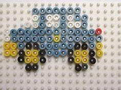 Car hama beads by florimence