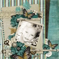Layout created using Genuine By Jennifer Labre
