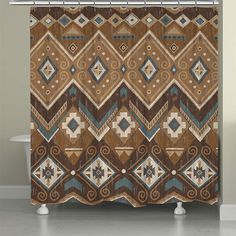 Dress Up Your Bathroom With One Of These Southwest Shower Curtains. Itu0027s  The Perfect Way