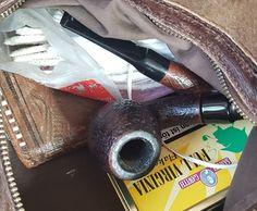 messy bag...  #pipe#tobacco#smokingthepipe#briarbroom#stanwell#bartoli#fullvirginia#flakes#collectingpipes#tobaccotins#leatherbag#pipecommunity#pfeifenputzer#scovolini#todaymood#