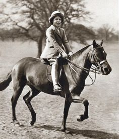Princess Elizabeth riding her pony in Winsor Great Park, The future Queen Elizabeth II of Great Britain as a child. Get premium, high resolution news photos at Getty Images Isabel Ii, Her Majesty The Queen, Queen Of England, Queen Mother, English Royalty, Santa Lucia, British Monarchy, Queen Elizabeth Ii, Royals