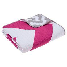 "Virgo Oversized Quilted Throw - Pink (60""x70"") : Target"