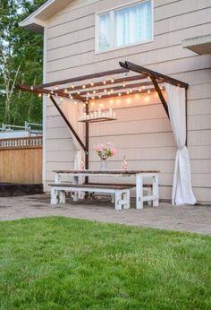 25 Beginner Woodworking Projects - Terrasse ideen 25 Beginner Woodworking Projects DIY pergola that Backyard Projects, Backyard Patio, Garden Projects, Backyard Landscaping, Wood Projects, Outdoor Projects, Woodworking Jigsaw, Beginner Woodworking Projects, Woodworking Plans