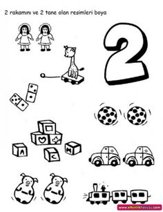 12 En Iyi 2 Sayisi Goruntusu Okul Oncesi Okul Ve Matematik