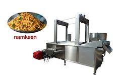 Continuous Namkeen Fryer Machine For Sale Email:ellie@machinehall.com Skype:leo.liufan