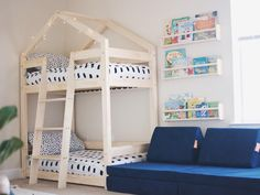 Wooden Bunk House Beds. If you're looking for a Scandinavian style bunk bed, this Wooden Bunk House Beds is another great option.