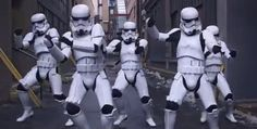 Well.... I can now say, I have seen everything. LOL Stormtroopers Twerking O.o