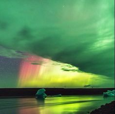 Incredible Photo of Aurora Borealis Over Iceland