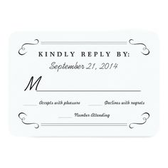 Formal Wedding Invitation RSVP Eat Drink be Married Chalkboard Rounded RSVP Card