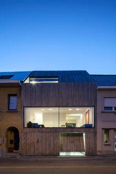 Christophe Meersman, Bruno Vanbesien Architects, Tim Van de Velde · Wooden House CM