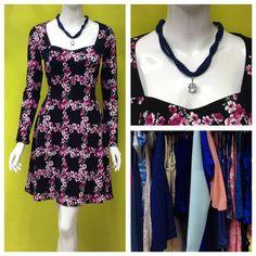 Inspiración en Centrito... un vestido de manga larga con estampado floral #amolapeli #print #invierno #ootd #centrito