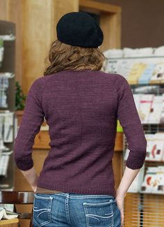 Tenney Park pullover : Knitty Deep Fall 2011