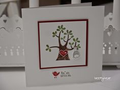 stampin with beemybear - Stampin Up, Der Wald ruft