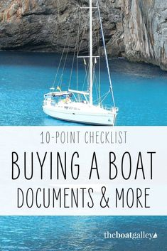 Ten documents, legally-required gear and arrangements you must have when you buy a boat. New boat checklist to be certain you've done everything required. Ireland Vacation, Ireland Travel, Galway Ireland, Cork Ireland, Liveaboard Boats, Liveaboard Sailboat, Boating Tips, Sailboat Living, Buy A Boat