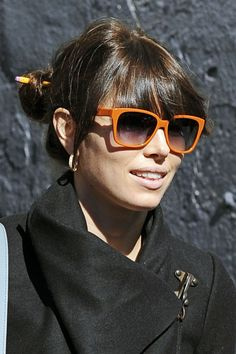 Everything about Jessica Biel, 2012 - I love! Bangs, color, cut