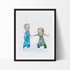 Princess Elsa & Anna 4