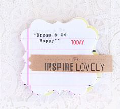 Would love to use this for a mini book.  InspireLovely on Etsy $6.00