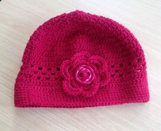 Crocheted cloche I made for my Sister.
