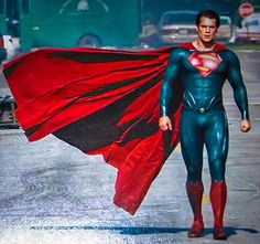 Superman (Kal-El) Man of Steel (Henry Cavill) Chris Pratt, Chris Evans, Superman Man Of Steel, Batman Vs Superman, Superman Artwork, Superman Cape, Superman Stuff, Superman Movies, Marvel Comics