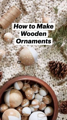 Diy Christmas Garland, Christmas Table Decorations, Christmas Wood, Festival Decorations, All Things Christmas, Kids Christmas, Holiday Crafts, Holiday Decor, Fajita Seasoning