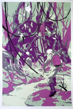 Mondo Star Wars Father Encounter on Dagobah by Tomer Hanuka Print Poster Star Wars Art, Tomer Hanuka, Star Wars Fan Art, Poster Prints, Illustration, Ghost In The Machine, Olly Moss, Art, Mondo Posters