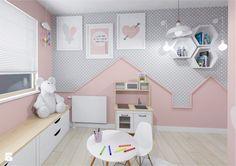 Mieszkanie 54 m przy ulicy Jasielskiej - Pokój dziecka, styl nowoczesny - zdjęcie od Architektownia
