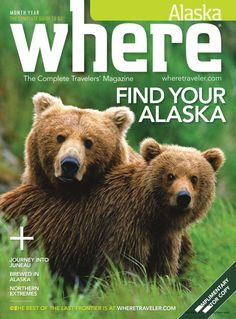 Get your digital subscription/issue of Where Alaska-Alaska 2014 Magazine on Magzter and enjoy reading the Magazine on iPad, iPhone, Android devices and the web. Free Magazines, Brown Bear, Ipod Touch, Alaska, You Got This, Ipad, Android, Iphone, Digital