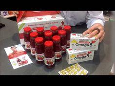 Revisamos los productos #Vitalgrana #Omega5 en formato #cápsulas y #zumo. Es un suplemento 100% #natural, rico en acidos grasos omega 5 con gran poder #antioxidante, #drenante #diurético: 100% #cardiosaludable. Puedes encontrarlo en nuestra farmacia online: http://www.farmaconfianza.com/antienvejecimiento-productos-belleza/vitalgrana-omega-5-60-capsulas