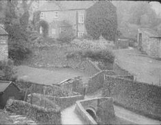 Another photo of the Packhorse Bridge. This looks like it could have been taken soon before the houses were demolished - maybe the early Peak District, 1930s, Natural Beauty, Past, Bridge, National Parks, Landscapes, Survival, Houses