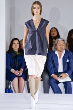 Jil Sander Spring 2013 RTW Collection - Fashion on TheCut