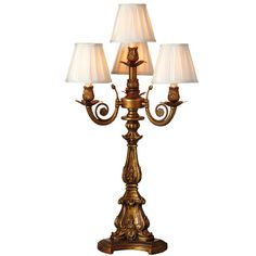 """Found it at Wayfair - Downton Abbey 32.5"""" H Four-Arm Table Lamp with Empire Shade"""