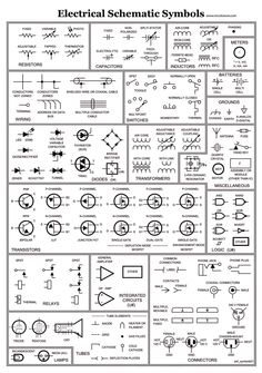 circuit schematic symbols | circuit diagrams symbols | electrical, Wiring circuit