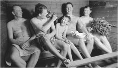 A Finnish family in a sauna in Oulu, Finland. Saunas provide a less formal, more open space for reserved Finns to express themselves. Diesel Gifts, Traditional Saunas, Finnish Sauna, Get In The Mood, Christmas Traditions, Christmas Eve, Best Cleaning Products, Steam Room, Painted Doors