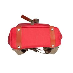 Brooks England Pickwick S small pomegranate I Red I Fahrrad Cycle Bag Rucksack I Wasserdicht I Details I Made in Italy