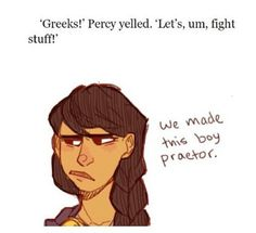 Well done Percy